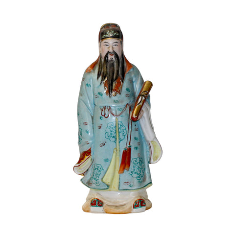 fortune star - ceramic figure - fortune figure