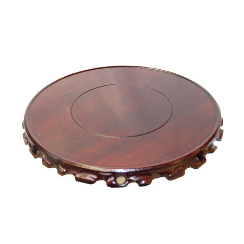 vase stand - table top round stand, display easel