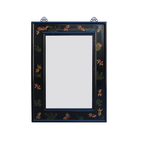 mirror - wall mirror - wood framed mirror