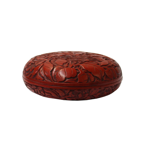 lacquer box -  flowers - Chinese box