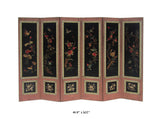 Chinese Antique Four Seasons Embroidery Display Panel