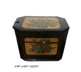 Chinese Rustic Rectangular Wood Box Bucket