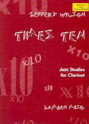 Times Ten - Jazz Studies for Clarinet