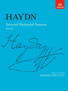 Haydn: Selected Keyboard Sonatas Book 3