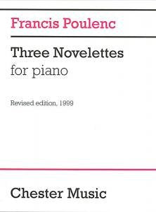 Poulenc, F.: Three Novelettes for Piano