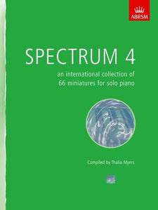 Spectrum 4 - an international collection for piano