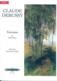 Debussy: Estampes for Solo Piano