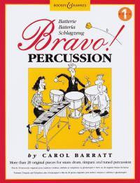 Bravo! Percussion Book 1