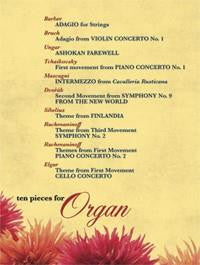 Ten Pieces for Organ