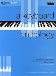A Keyboard Anthology (1st Series, Bk 5, Grade 7)