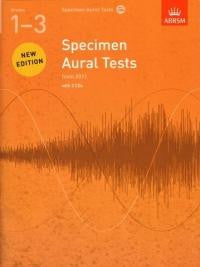 Specimen Aural Tests Grade 1-3 with 2 CDs