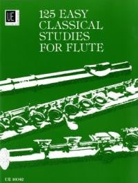 125 Easy Classical Studies for Flute