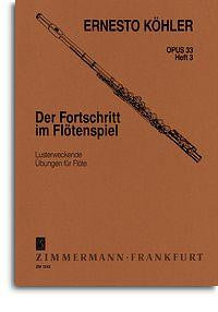 Kohler, E.: Flautist's Progress Op.33 Book 3