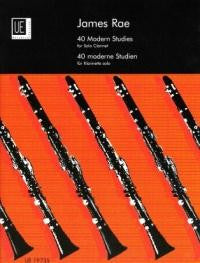 40 Modern Studies for Clarinet