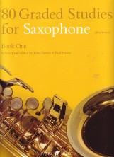80 Graded Studies for Saxophone - Book 1