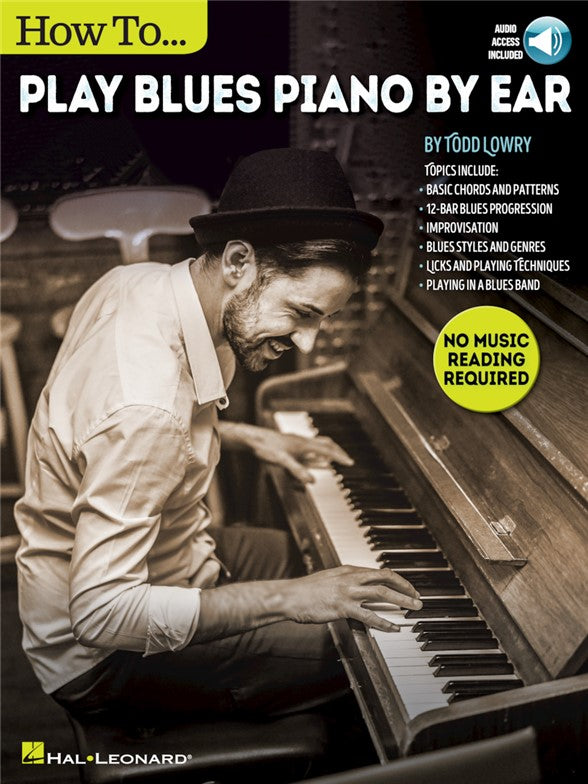 How To Play Blues Piano By Ear (Book/Audio) – A Major Music