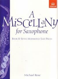 A Miscellany for Saxophone Book 2