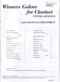 Winners Galore - Clarinet (Piano Acc.)