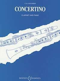 Weber, C.M.v.: Concertino for Clarinet