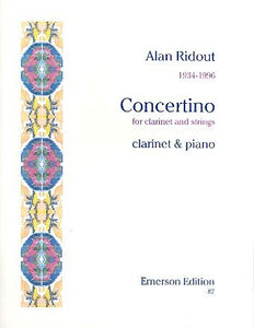 Ridout, A.: Concertino for Clarinet & Strings