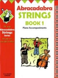 Abracadabra Strings Book 1 - Piano Accompaniments