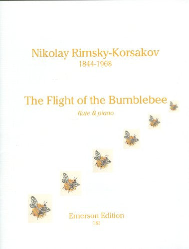Rimsky-Korsakov, N.: Flight of the Bumblebee, flute and piano