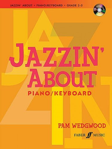 Jazzin' About Piano with CD