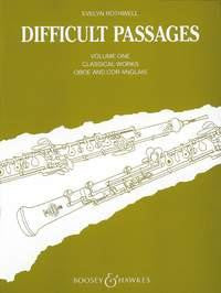 Difficult Passages - Vol.1 Oboe