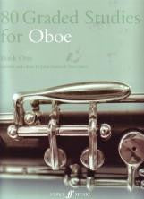 80 Graded Studies for Oboe - book 1