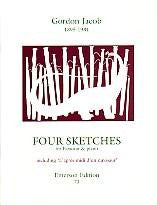Jabob, G.: Four Sketches for Bassoon