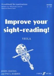 Improve Your Sight-Reading - Viola Gds 1-5