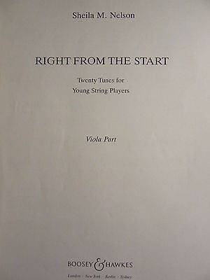 Right From the Start - Viola part
