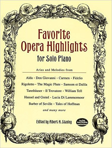 Favourite Opera Highlights For Solo Piano