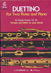Doppler: Duettino for 2 Flutes/Piano, Op.36