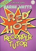 Red Hot Recorder Tutor Treble (Teachers)