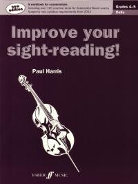 Improve Your Sight Reading Cello Gd 4-5 (New)