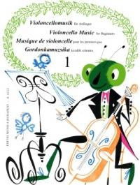 Violoncello Music for Beginners Book 1