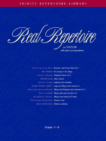 Real Repertoire for violin - Grades 4-6