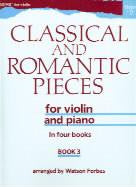 Classical & Romantic Pieces - book 3