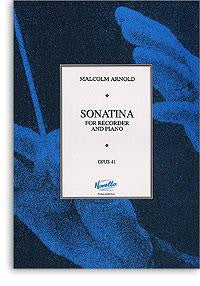 Arnold, M.: Sonatina for Recorder Op41