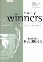 Easy Winners Descant Recorder Book & CD