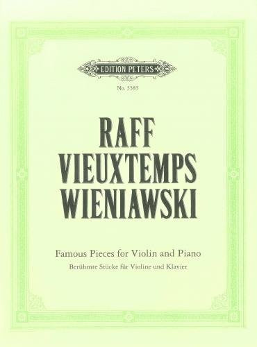 Wieniawski, R.V.: Famous Pieces for Vln & Pf