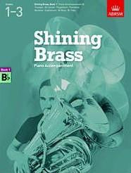 Shining Brass Piano Accompaniment Book 1 Bb Instruments