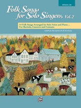 Folk Songs for Solo Singers - Med.Low