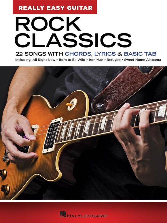 Rock Classics - Really Easy Guitar Series