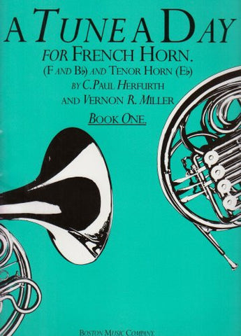 A Tune a Day for French Horn Book 1