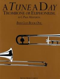 A Tune a Day Trombone/Euph. Bass Clef Book 1