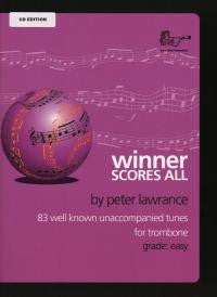 Lawrance: Winner Scores All Trombone CD Ed