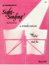 Forbes-Milne: Introduction to Sight-Singing Bk 2