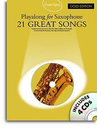 Guest Spot: 21 Great Songs for Alto Sax Gold Ed.